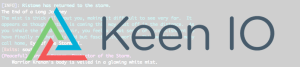Keen.io logo to emphasize the application of Keen.io in-game analytics for MUDs