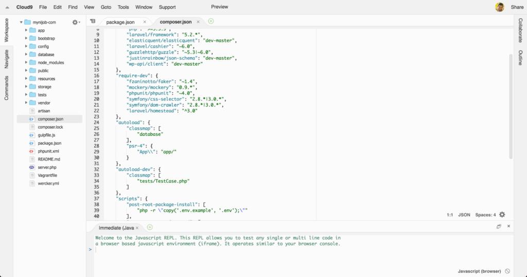 Cloud9 IDE