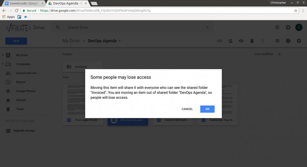 google app usability