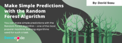 Predictions with Random Forest Algorithm